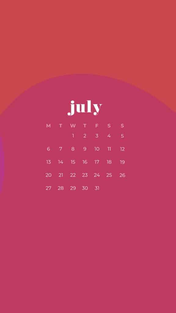 Free July wallpapers colorful