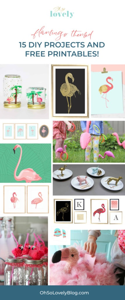 Are you a flamingo lover? You're in luck because I'm rounding up ALL my 15 flamingo blog posts into one epic flamingo blog post!