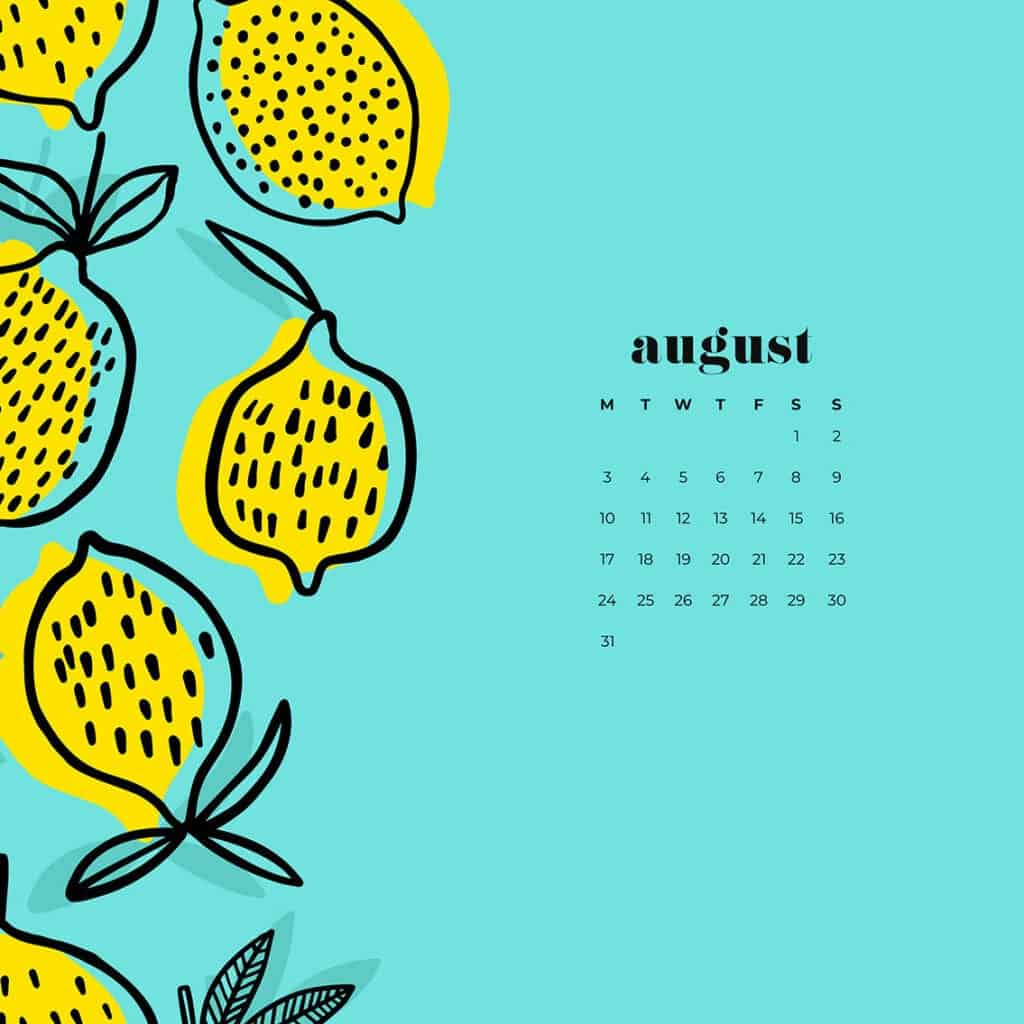 free August wallpapers