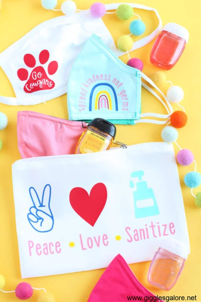 20 fun and easy ideas to personalize your back to school gear with Cricut