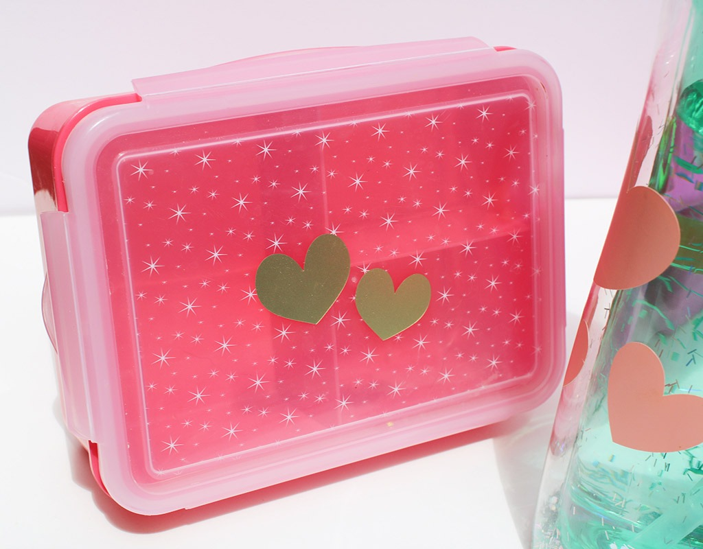 Heart vinyl cricut coral hearts back to school