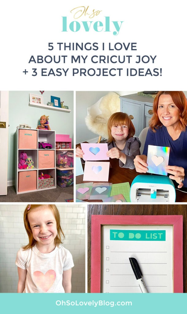 5 things I truly love about my Cricut Joy, Easy Press 2, and Access + 3 super cute and easy projects that anyone can make.
