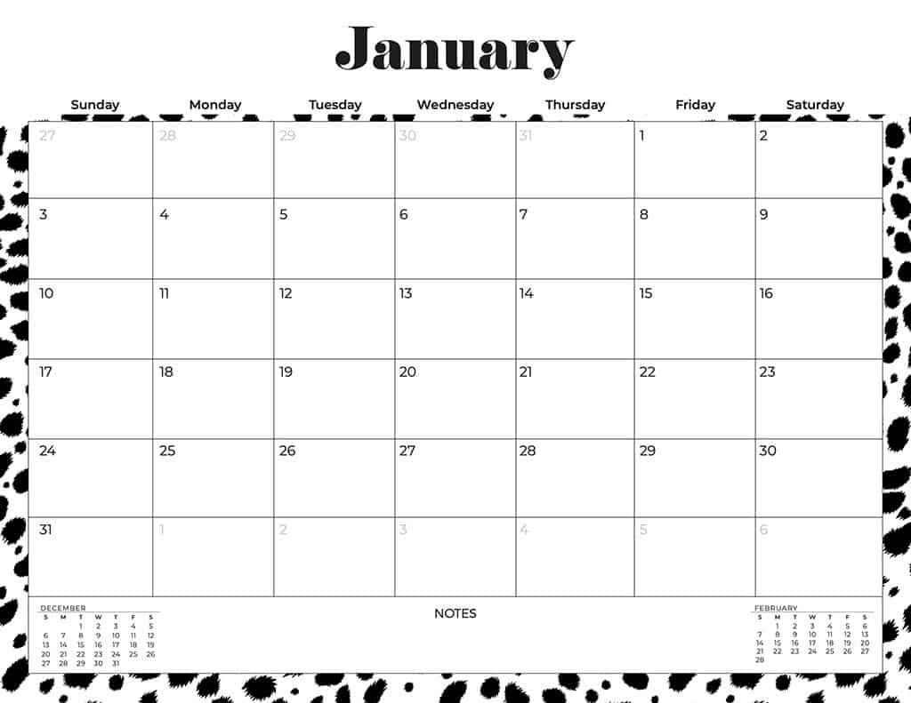 free 2021 calendars cheetah