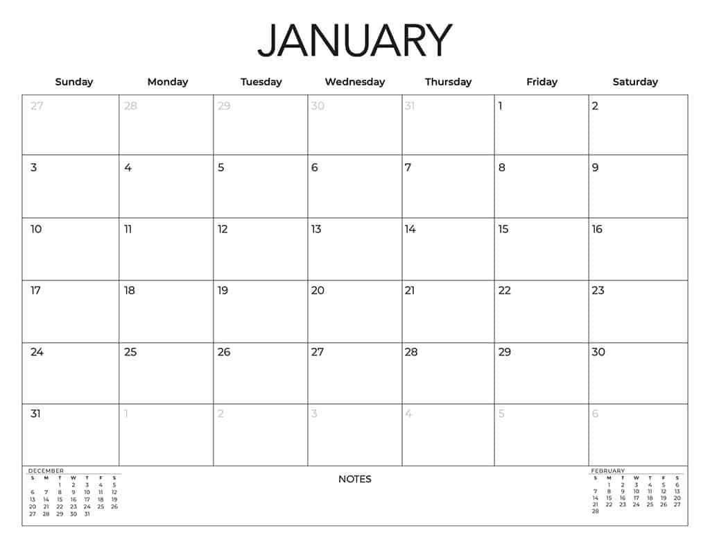 free 2021 calendars neutral
