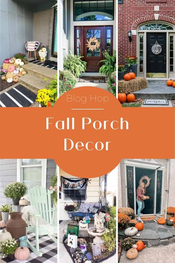 outdoor fall decor home tour