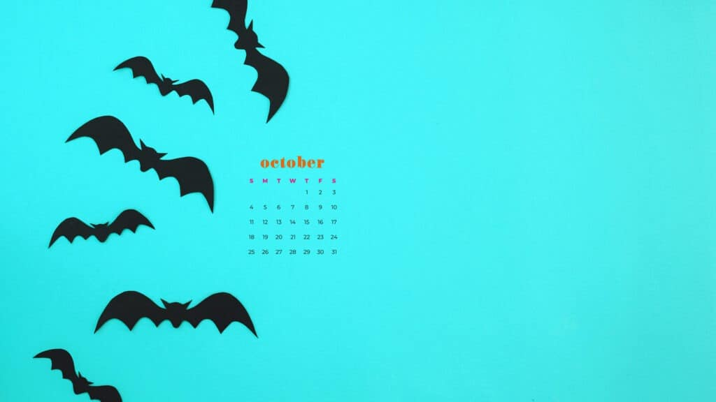 October 2020 Desktop Calendar Wallpapers 22 Free Design Options