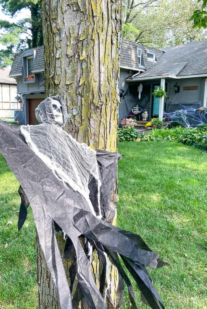 affordable Halloween ghouls in trees