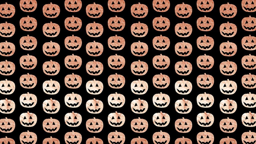 14 free Halloween pumpkin wallpapers for desktop and smart phone - A festive way to dress your tech. Lots of colors to choose from!