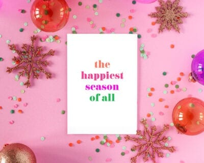 40 festive and free holiday art printables