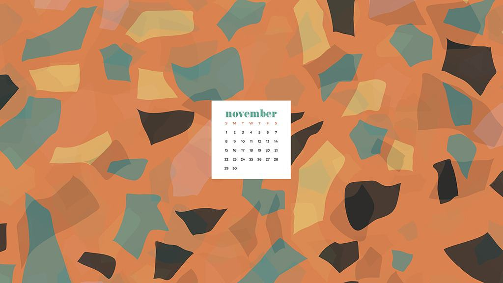 November 2020 Desktop Calendar Wallpapers 27 Free Designs