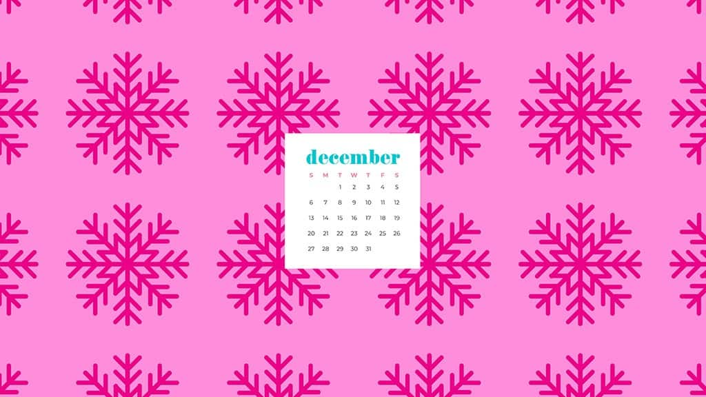 Free December 2020 calendar wallpapers - 41 designs to choose from in Sunday and Monday starts plus no calendar options. Deck your tech!