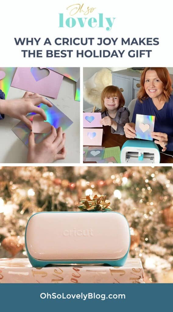 Learn why a Cricut Joy makes the best holiday gifts for yourself or loved ones – Spolier alert: you can make practially anything!