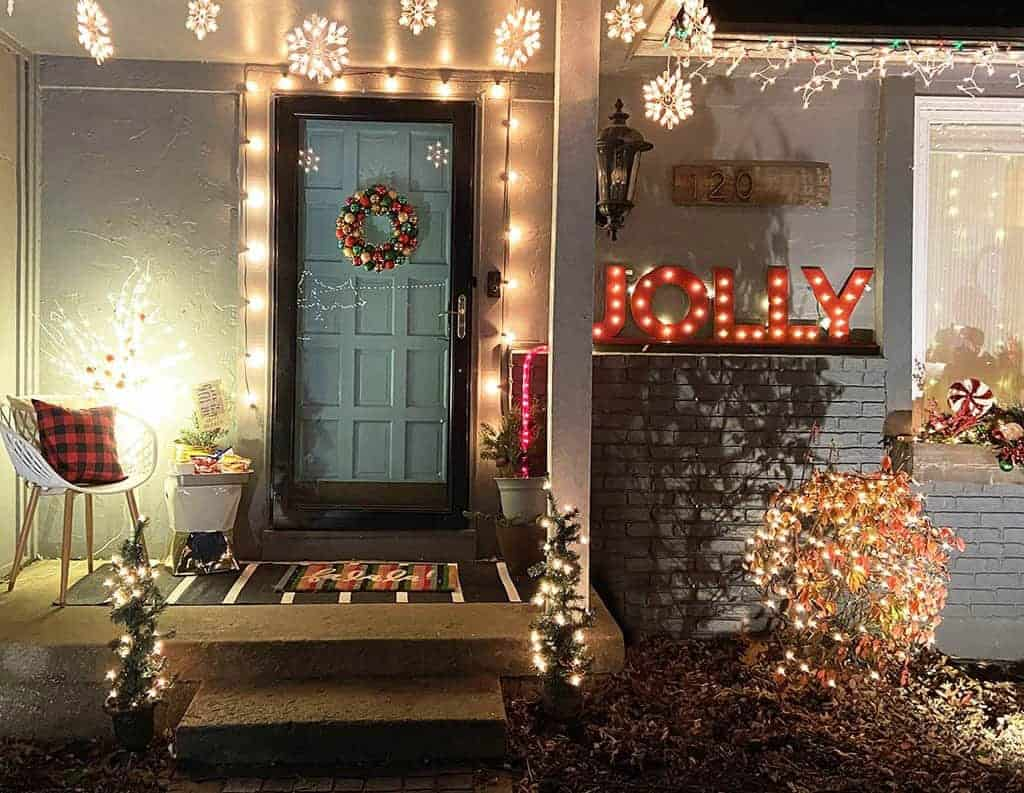 holiday front door