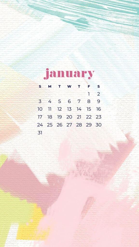 January 2022 Wallpaper Calendar.January 2021 Calendar Wallpapers 30 Free Designs To Choose From