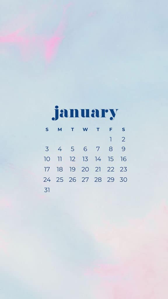 January 2021 Calendar Wallpapers 30 Free Designs To Choose From