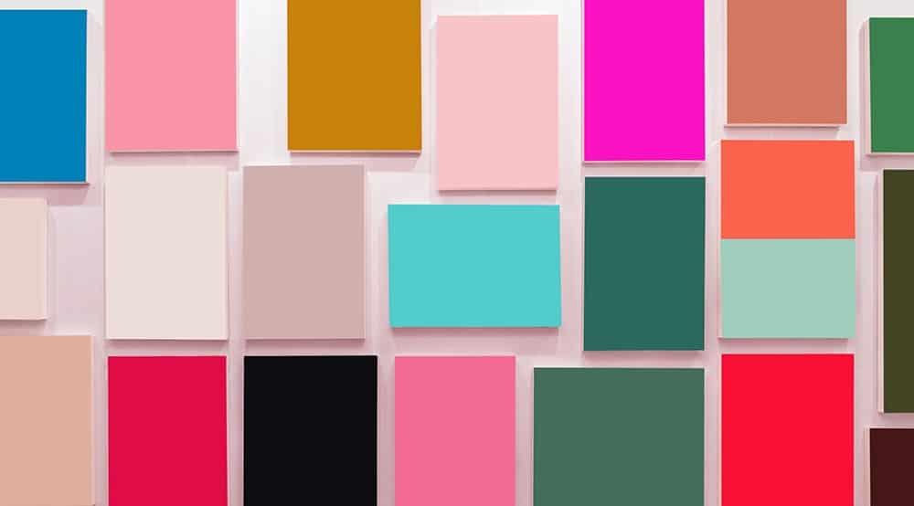 free colorful rectangles desktop wallpaper with no calendar
