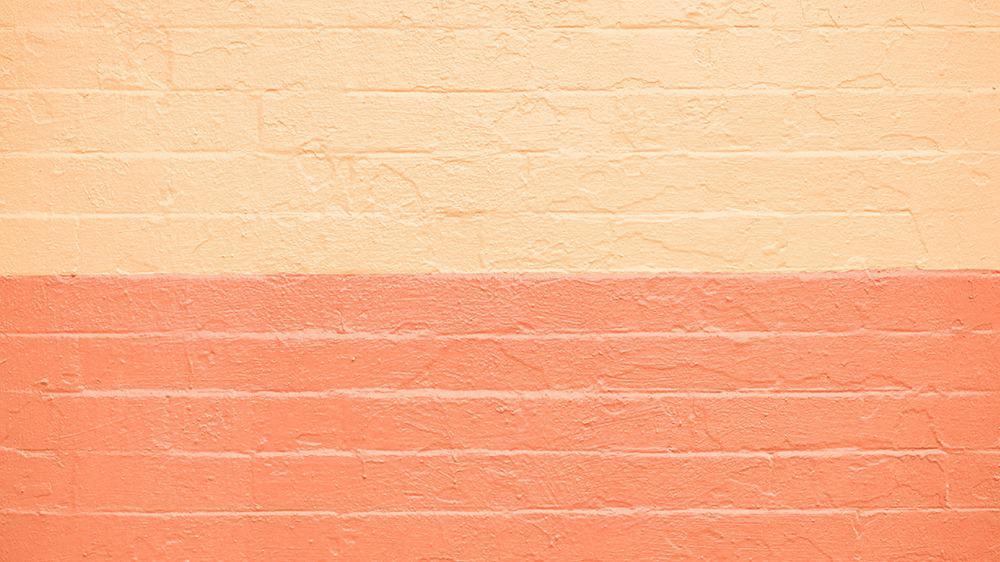 free bricks in orange and yellow desktop wallpaper with no calendar