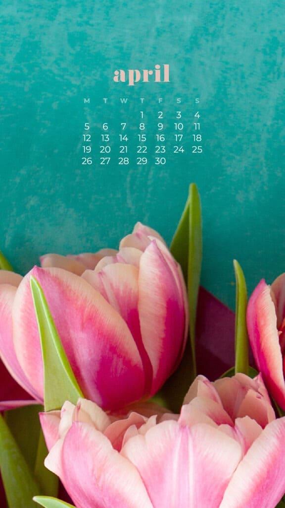 April 2021 calendar wallpapers - 30 FREE & cute design ...