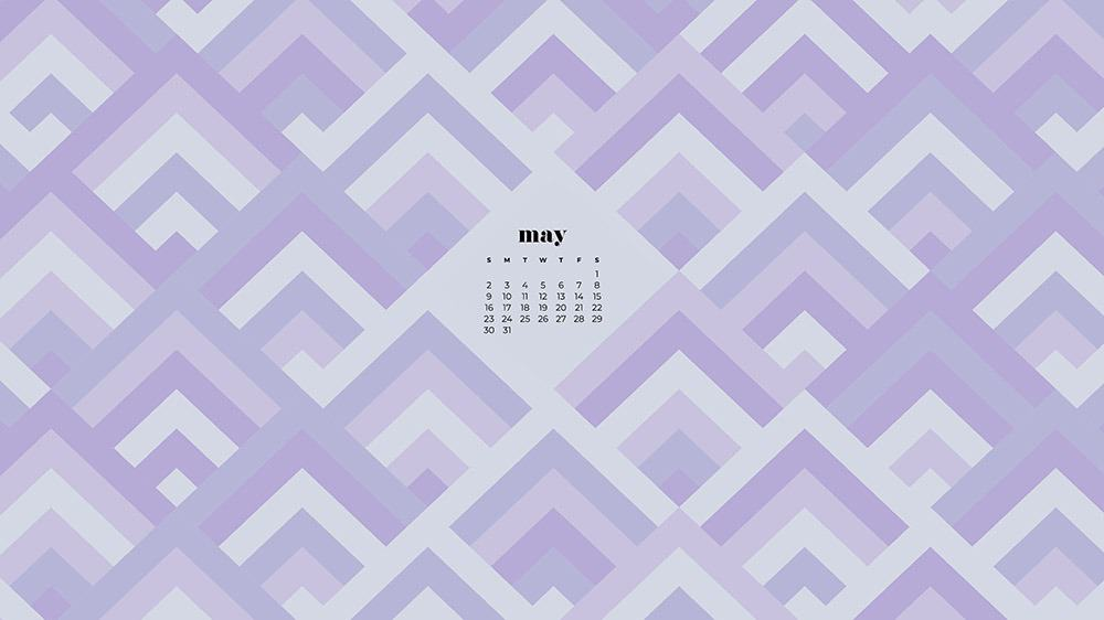 abstract geometric pattern in shades of purple