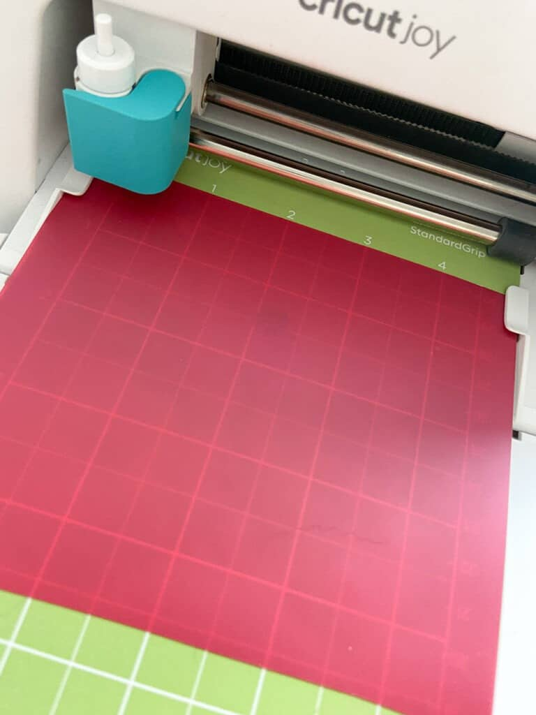 Cutting iron on with a Cricut Joy