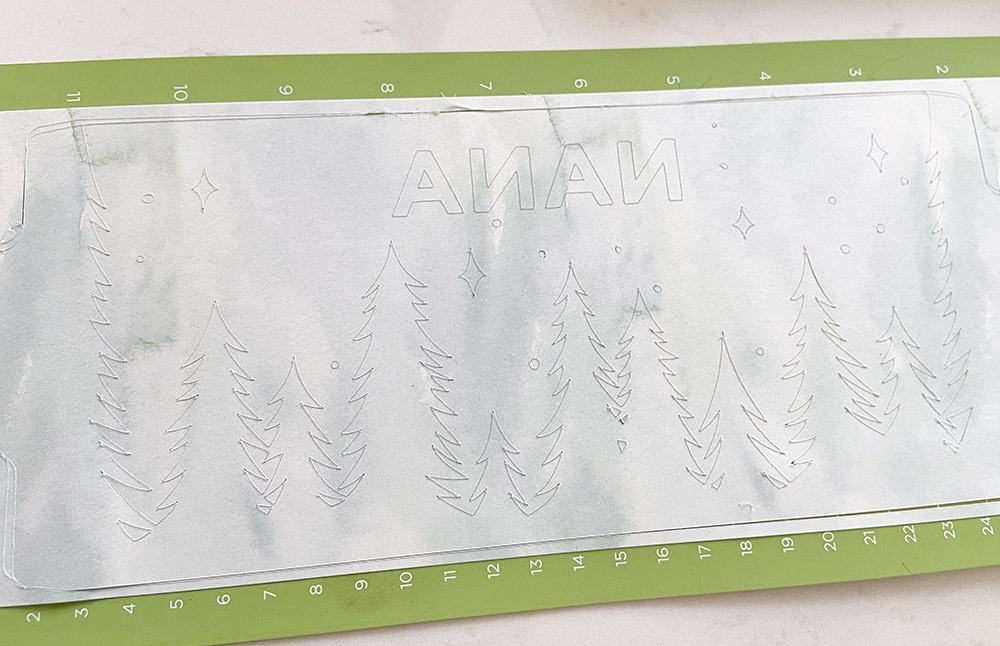 Cutting infusible ink with a Cricut Joy