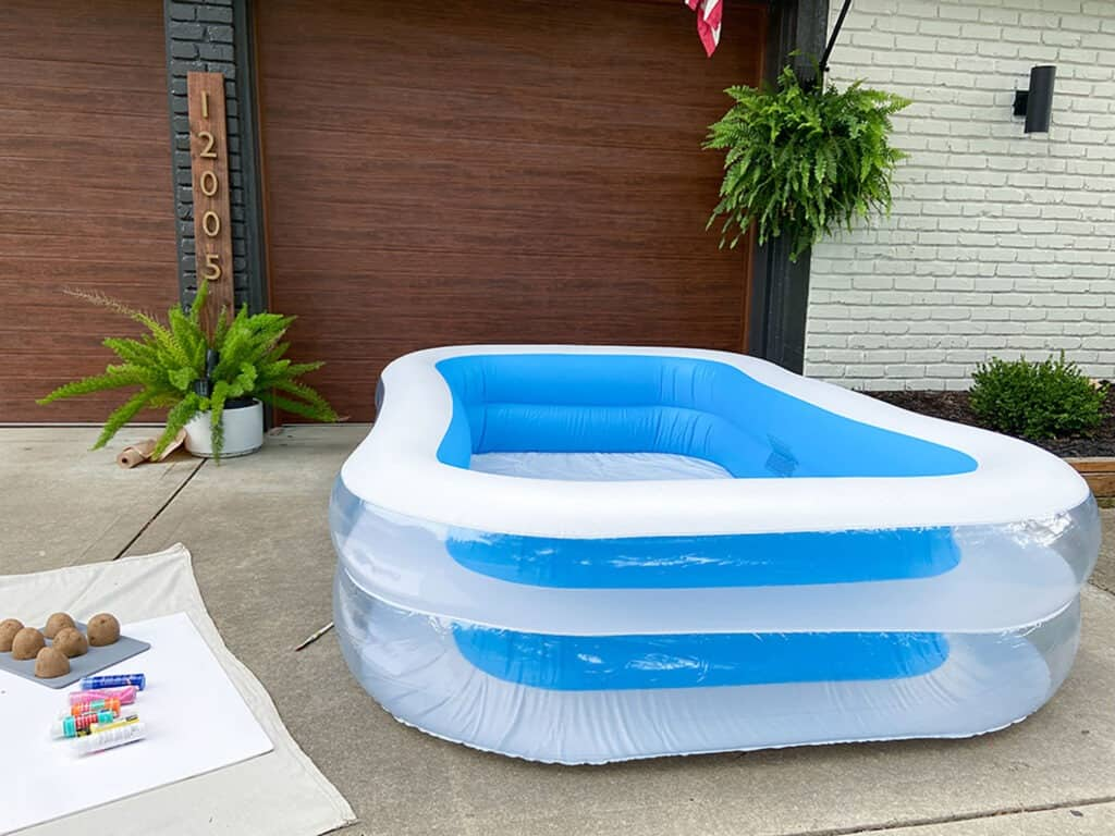 ides to up cycle your inflatable kids pool